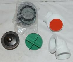 Watco 901 PP PVC BZ Oil Rubbed Bronze Innovator Push Pull Half Kit image 2