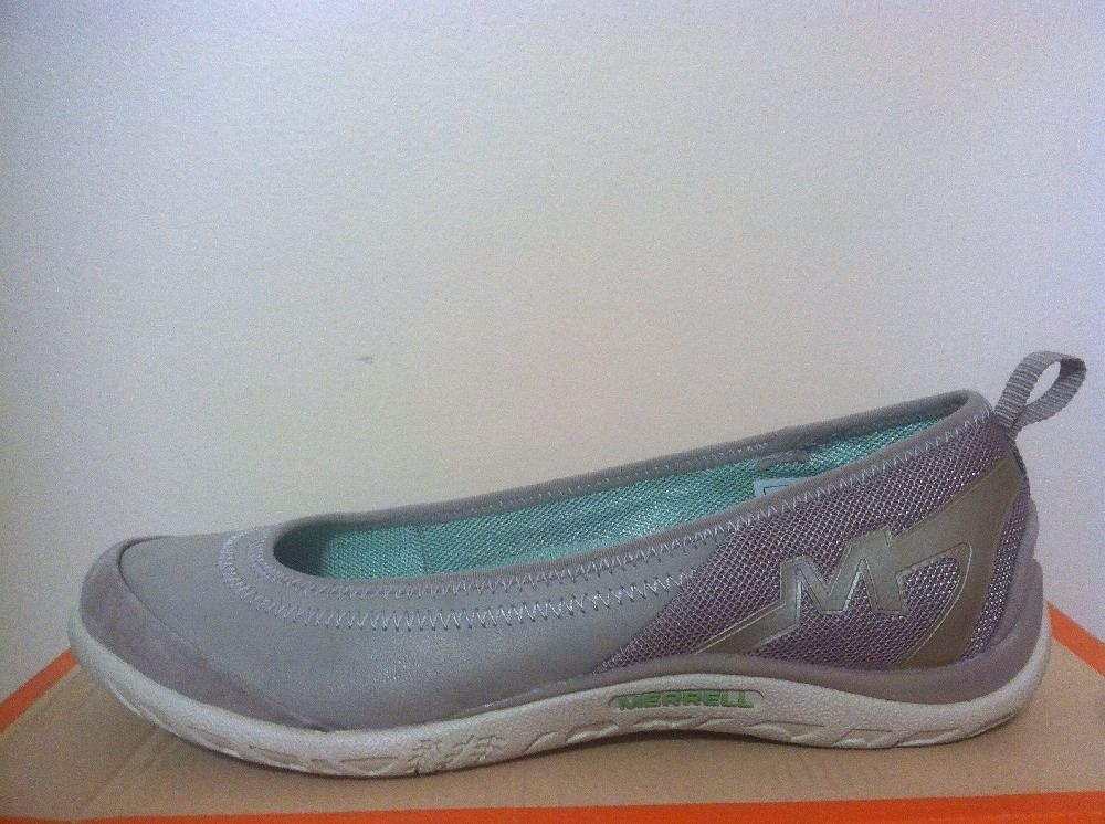 Merrell Enlighten Vex Aluminium Gray Women's Slip On Comfort Flats Oxfords 6 M