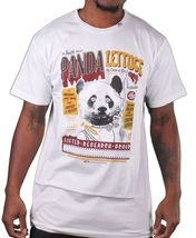LRG Lifted Research Group Mens White or Black Smoking Panda Lettuce T-Shirt NWT image 4
