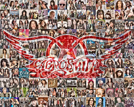 Aerosmith Photo Mosaic Print Art - $24.99+
