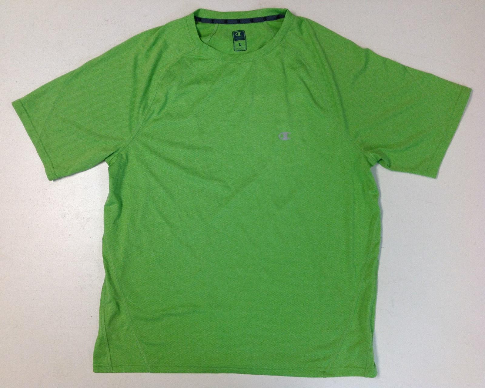Champion Men's Short Sleeve Sport Tee, Size L