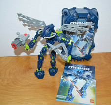 LEGO BIONICLE MAHRI TOA HAHLI Action Figure Set Complete Canister 8914 2007 - $29.02