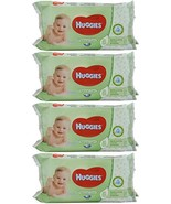 Huggies Baby Wipes Natural Care with Aloe Vera, 56 Count (Pack of 4) - $14.63
