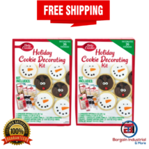 Betty Crocker Holiday Cookie Baking Party Decorating Kit Complete Set 2-... - $44.09
