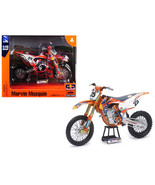 """KTM 450 SX-F #25 Marvin Musquin \""""Red Bull Factory Racing\"""" 1/10 Diecast... - $39.58"""