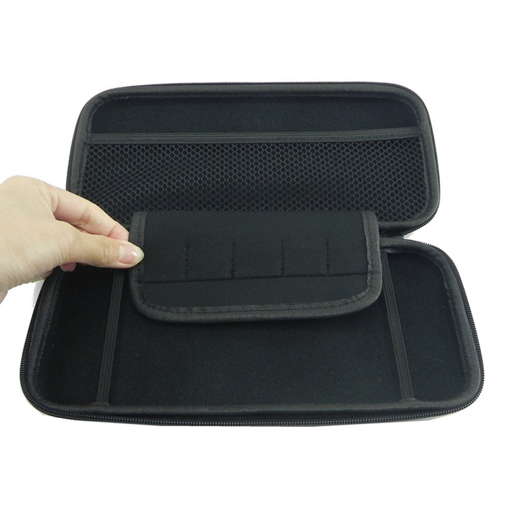 Amzer Hard Shell Carrying Case with Card Slots for Nintendo Switch