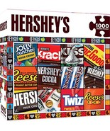 MasterPieces Hershey's Jigsaw Puzzle, Moments, Chocolate Collage, 1000 P... - $10.00