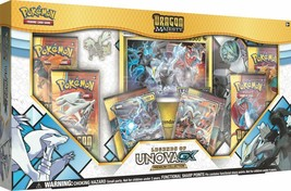 Dragon Majesty Legends of Unova GX Premium Collection Box Pokemon 6 Boos... - $37.99