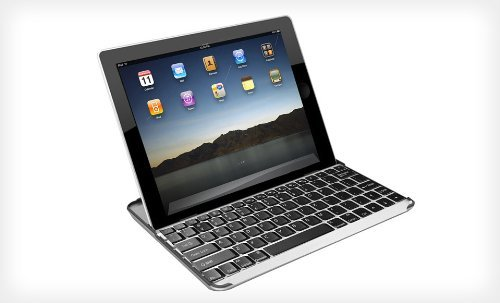 Hype HY-1023-BT Aluminum Bluetooth Keyboard Stand and Case for iPad 2 and iPad 3