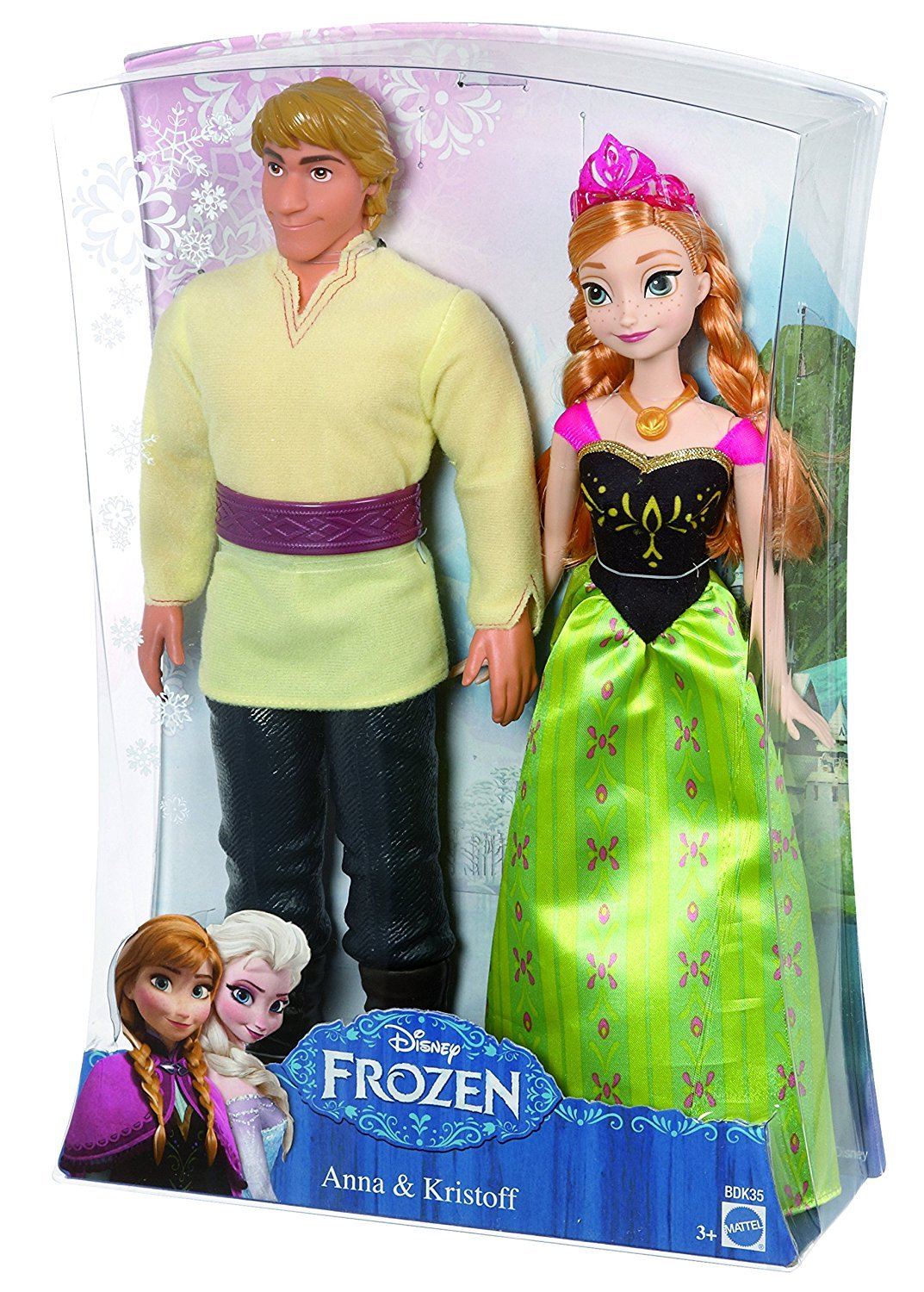 Disney Frozen Anna and Kristoff Doll, 2-Pack - $34.99