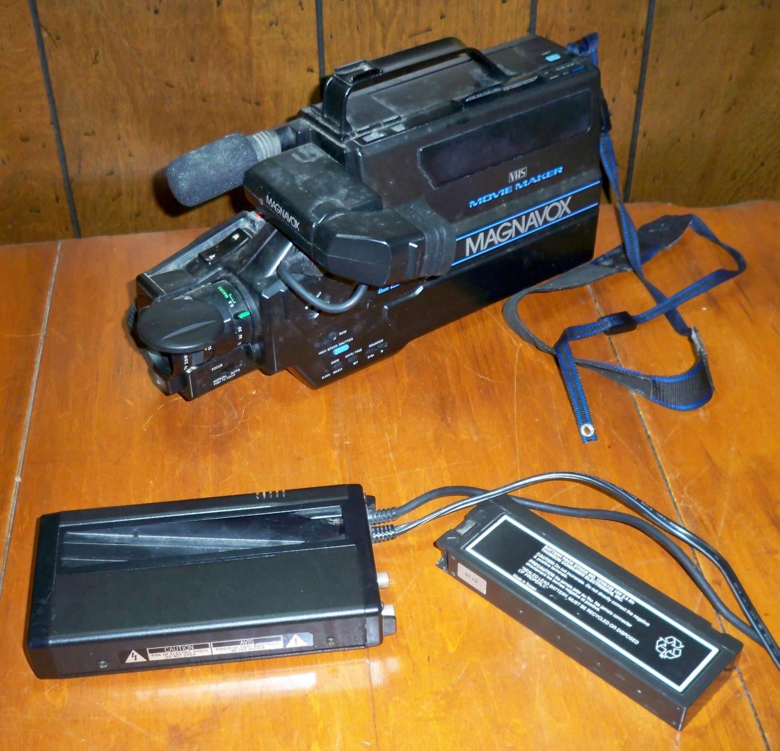 Magnavox CCD Moviemaker VHS Camcorder and and 50 similar items