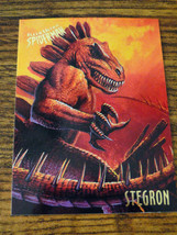 "1995 Fleer ""Stegron"" Collectible Trading Card - $0.99"