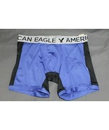 NEW AE Men's Athletic Stretch Boxer Brief Blue AEO Performance Boxers Me... - $7.94