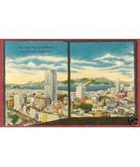 San Francisco CA City fr Top of Mark Linen Postcard BJs - $6.50