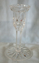 "Waterford Lismore Single Candlestick 5 5/8"" tall - $32.56"
