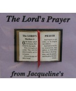 Dollhouse Bible English Lord's Prayer 4916 Jacqueline readable ribbon NR... - $4.70