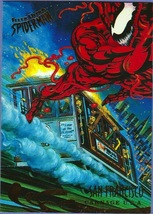 "1995 Fleer Marvel Metal""San Francisco Carnage #141"" Collectible Trading ... - $0.99"
