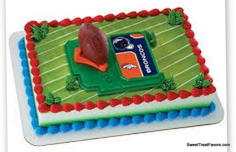 Broncos Denver Football Nfl Cake Topper And 50 Similar Items