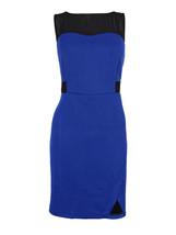 Kensie Women's Illusion Textured Dress Size Medium - $32.67