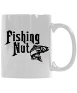 Fishing Nut Coffee Mug, Fishing Mug, Dad Fishing Mug, Fishing Coffee Mug... - $17.97