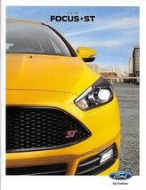 2015 Ford FOCUS sales brochure catalog US 15 SE Titanium ST yellow cover - $8.00