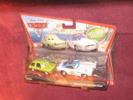 DISNEY CARS 2 ACER & SECURITY GUARD FINN Exclusive. FACTORY SEALED PACKAGE. - $14.99