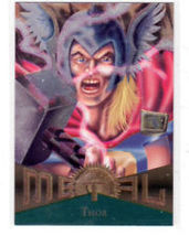 "1995 Fleer Marvel Metal ""Thor #13"" Collectible Trading Card - $0.99"