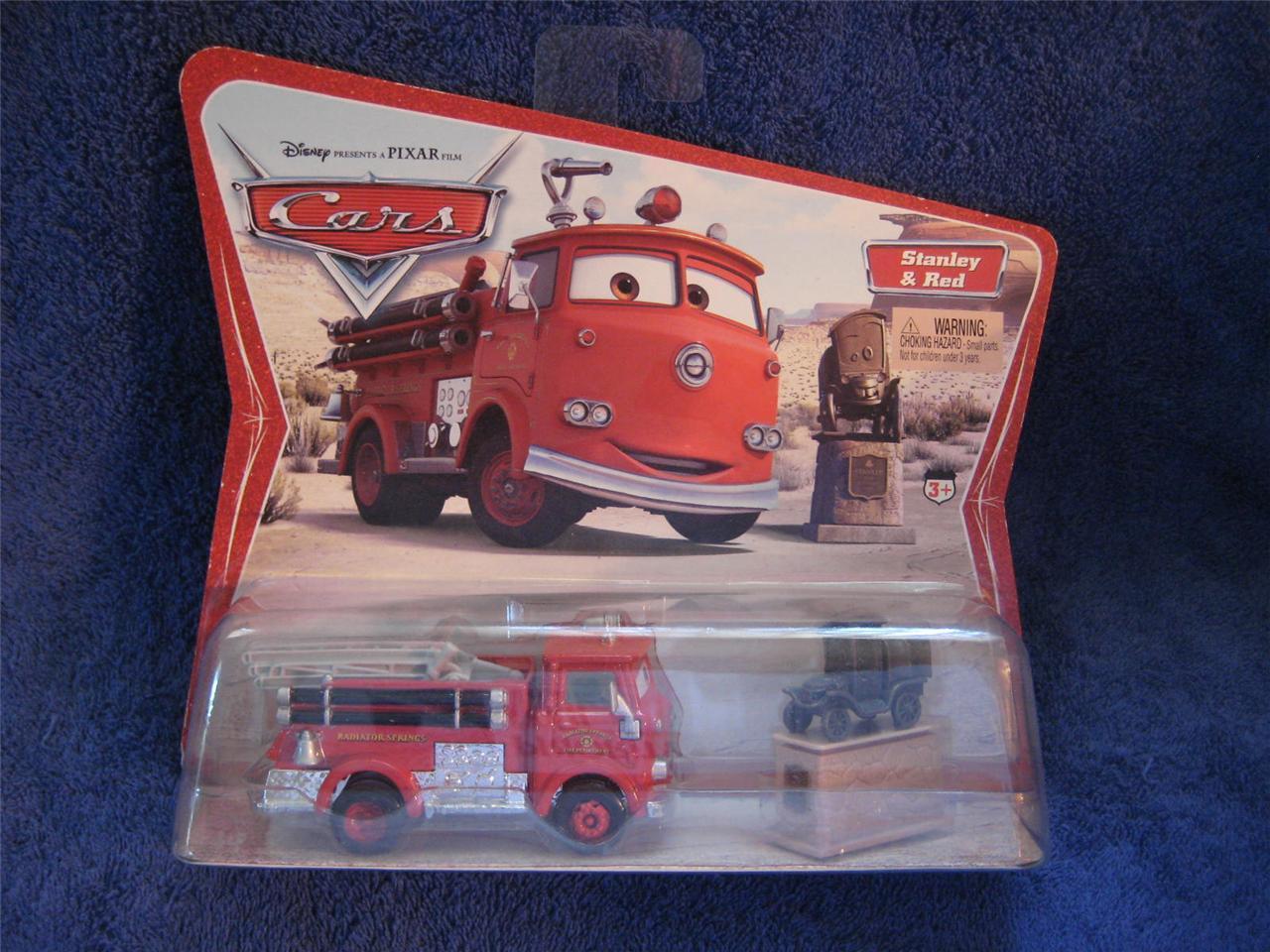 Disney Die Cast Cars-RIP CLUTCHGONESKI in Display Case-SCALE 1:43 NEW//RARE