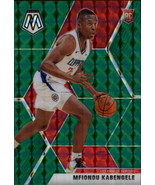 2019-20 Panini Mosaic Green #218 Mfiondu Kabengele RC Rookie Clippers - $10.95