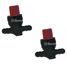 2 Inline Fuel Shutoff Valves 494768 697947 5091H 698183 AM107340 AM36141... - $10.16