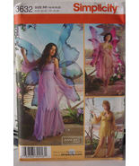 Pattern 3632 sz 14-20 Adult Fairy Costume  - $9.99
