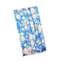 Set of 10 Artistic Colorful with Flower Pattern Unisex Adult Disposable Masks