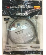 MONSTER HDMI 4FT. CABLE HDMI High Speed with Ethernet - $11.87