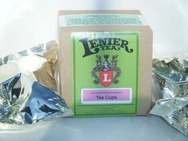 Lenier's French Vanilla 6 boxes Single Serve Tea Cups per one case mix & match