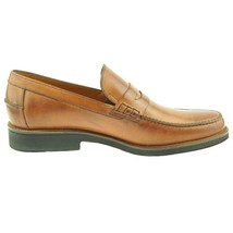 Shoes Loafer Casual Penny Slip Men's Cognac Charles Dress Stone on Leather EPBxqnzw