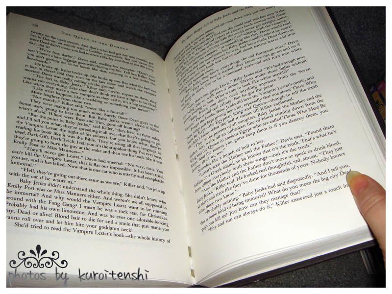 USED Hardbound copy of Anne Rice's Vampire Chronicles 1-3