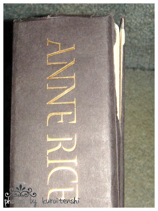 USED Hardbound copy of Anne Rice's Vampire Chronicles 1-3 image 4