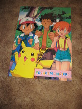 Rare Japanese Pokemon Catch 'Em All Wall Poster # 1307 - $9.89