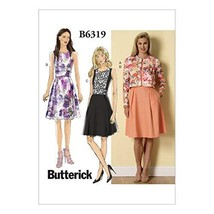 Butterick Patterns B6319 Misses' Cardigan and Pleated-Skirt Dress, Size B5 (8-10 - $13.85