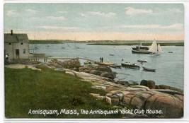Annisquam Yacht Club House Massachusetts 1910c postcard - $6.44
