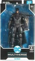 New 2021 Mcfarlane Dc Multiverse Batman Justice League 7 Inch Figure - $36.99