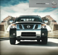 2009 Nissan TITAN sales brochure catalog US 09 PRO-4X Heavy Metal - $6.00