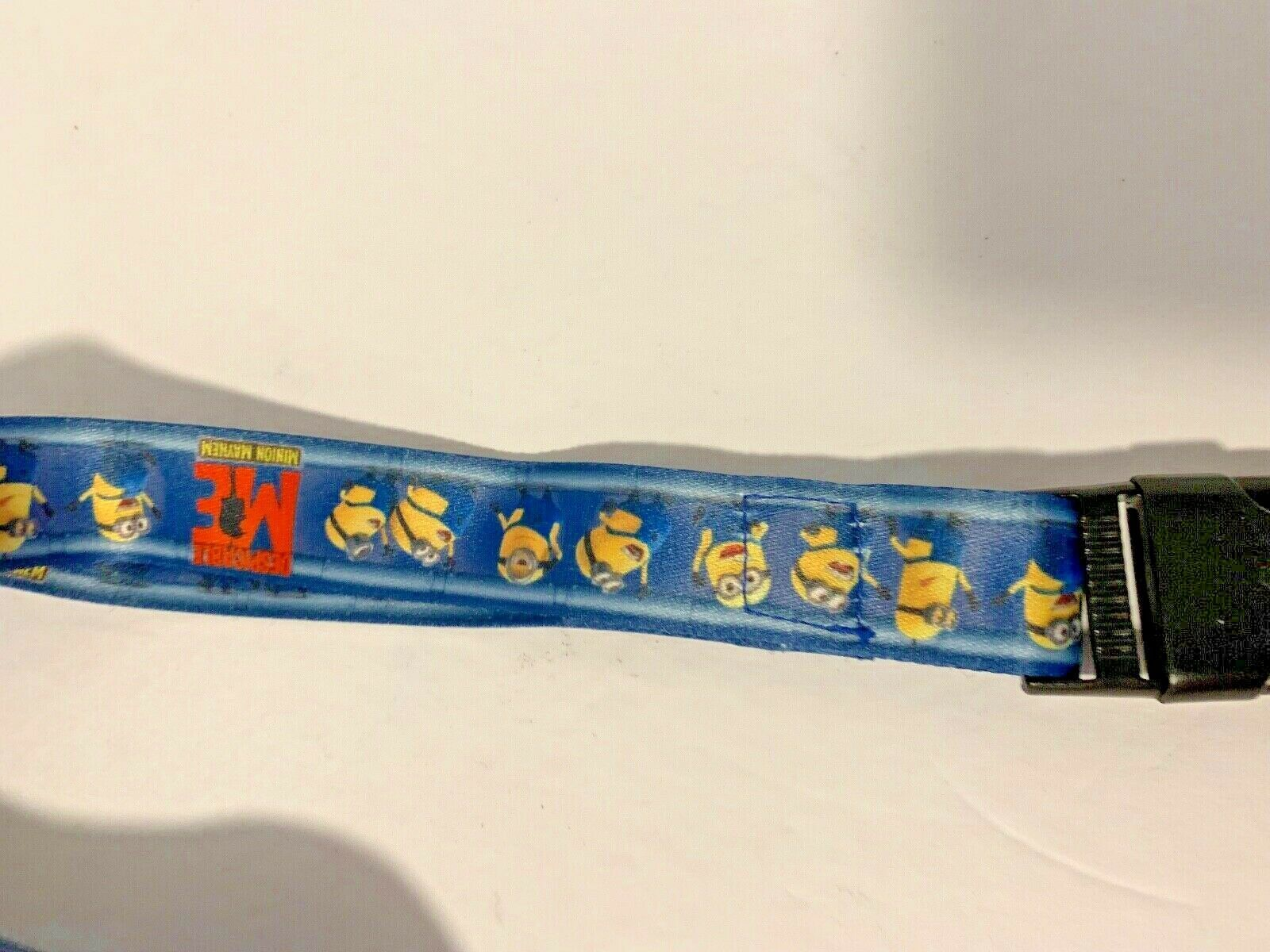 Universal Despicable ME Minions Lanyard with Plastic Ticket Holder