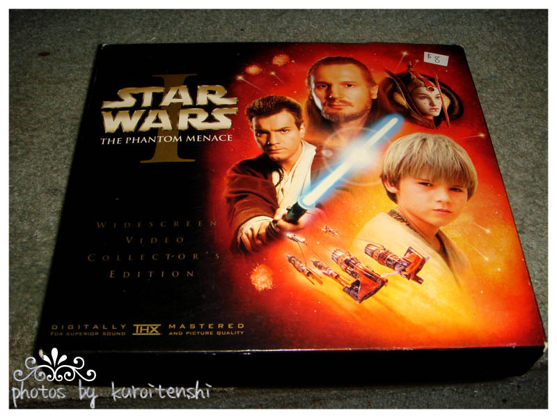 STAR WARS Episode I Widescreen Video Collector's Edition