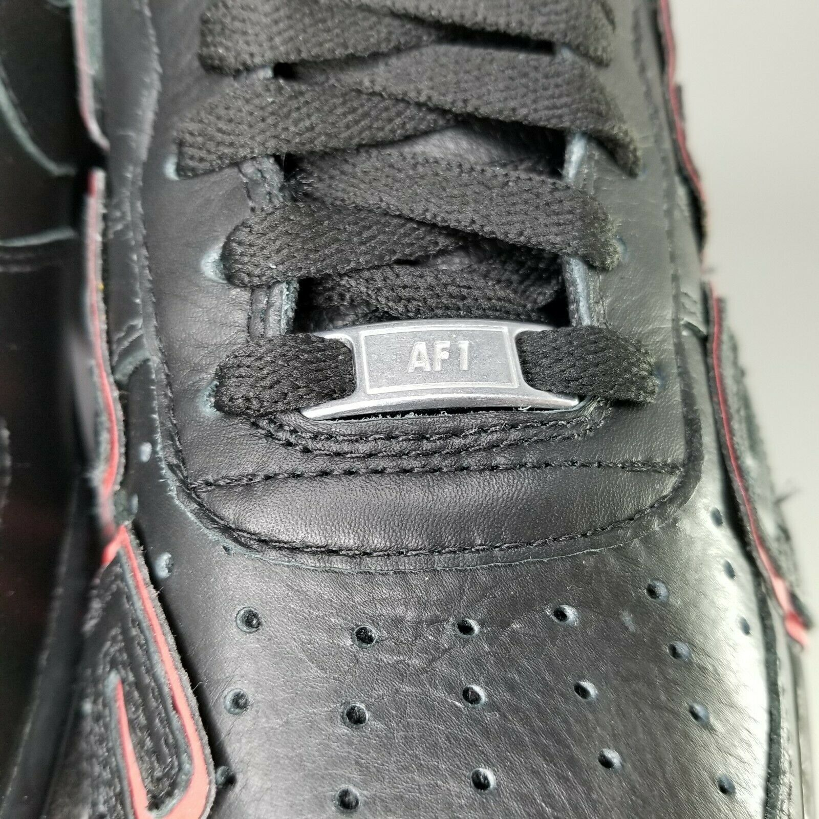 Nike Air Force 1 Low x CPFM Athletic Shoes Mens Size 8.5 Black Blue Red Sunshine image 7