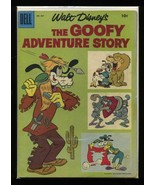 Four Color #857 VG 1957 Dell Walt Disney's Goofy Adventure Story Comic Book - $7.14