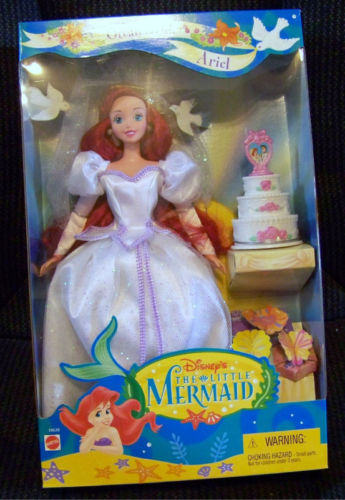 Primary image for Ariel Ocean Bride Disney's The Little Mermaid Doll MIB 1997 Mattel
