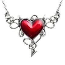 Alchemy Gothic ULFP25 Devil Heart GŽnŽreux  Necklace Pendant - $68.30