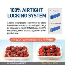 (Pack of 6) Lock & Lock Rectangular Plastic Food Container 11.83oz / 1.48cup - $32.66