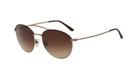Giorgio Armani Sunglasses AR6032-J 3004/13 55MM Metal Brown Frame Brown ... - $97.02